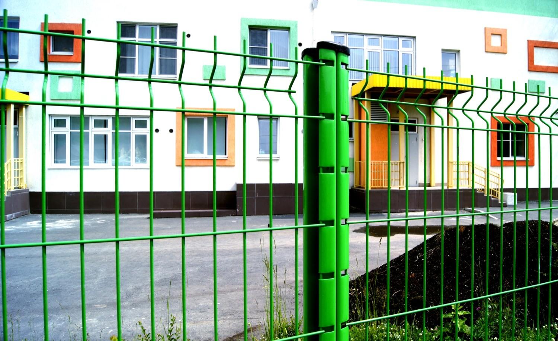 3д-забор для школ, больниц, дестких садов