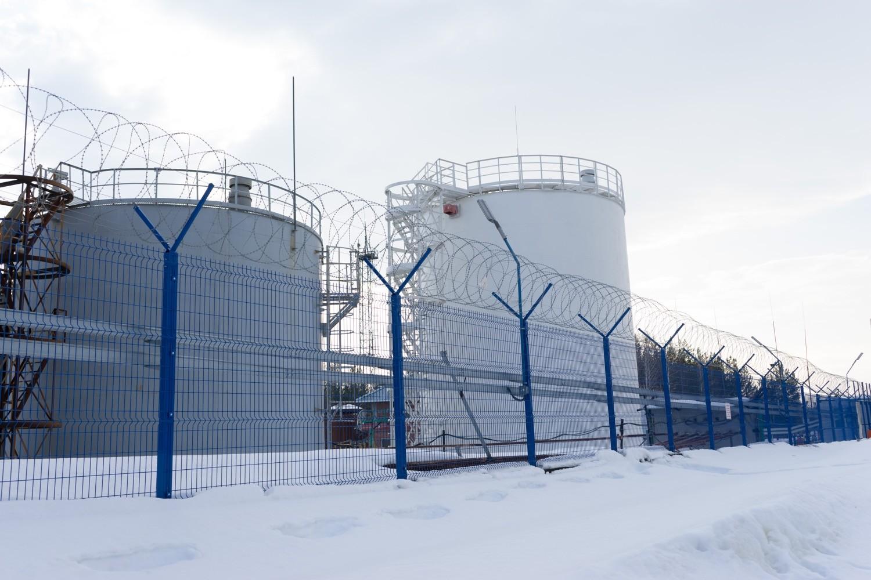 Ограждения объектов топливно-энергетического комплекса